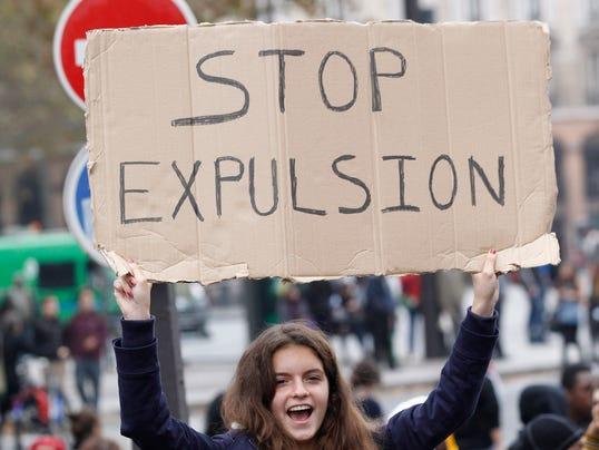 Paris Student Protests