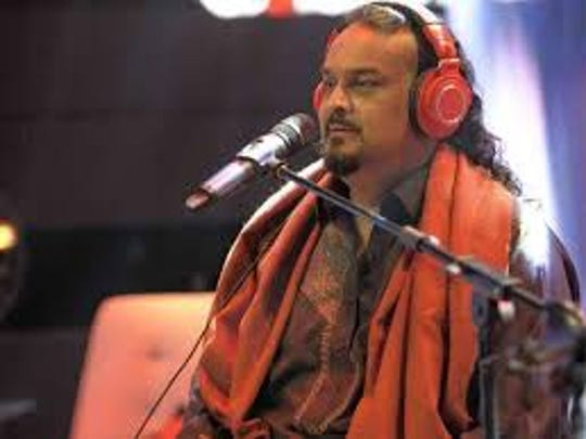 Amjad Sabri, singer of qawalli, or traditional Sufi songs, performs at Coke Studio. The singer was gunned down in Karachi in June, shocking all of Pakistan.