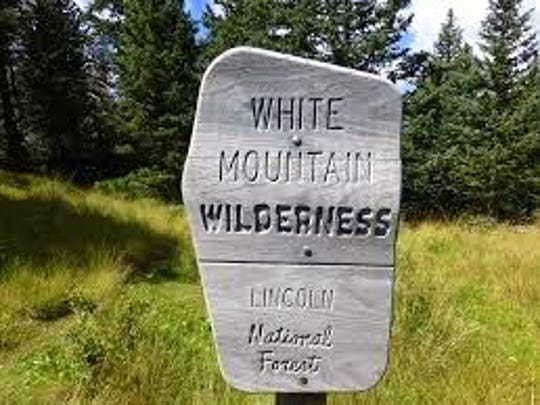 The White Mountain Wilderness covers 48,000 acres in the Sacramento Mountains.