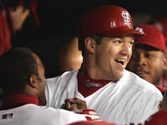 Jasper High School graduate Scott Rolen was named to the Cardinals' Hall of Fame.