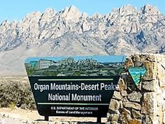 National Monuments such as this one near Las CRuces also are affected.