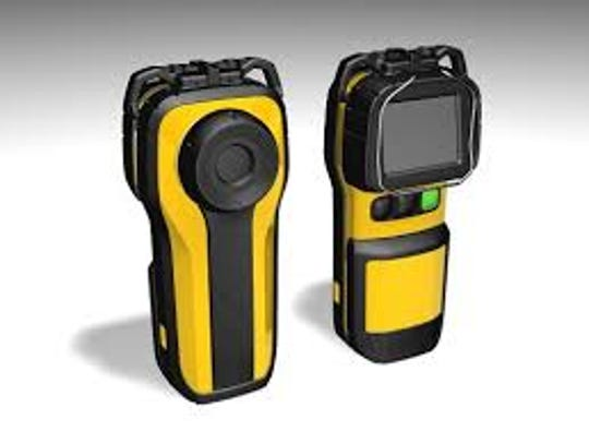 An Argus EL Thermal Imaging Camera like the ones that local departments will be purchasing with grant money.