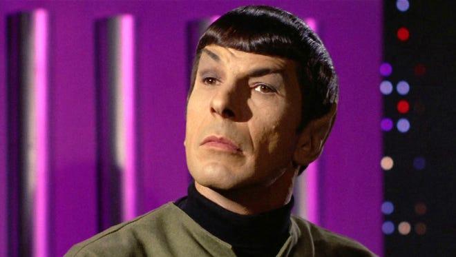 Leonard Nimoy as Mr. Spock in the the 'Star Trek' episode, 'Spock's Brain.' Original airdate, September 20, 1968.