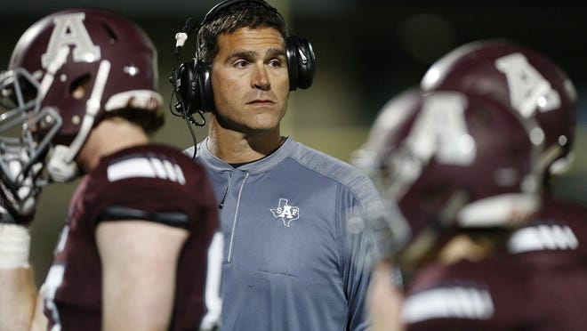Austin High head coach Mike Rosenthal's team has suspended strength and conditioning activities at the school over a COVID-19 contact, according to the Austin school district.