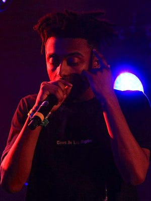 Aminé at the 2017 SXSW YouTube party.