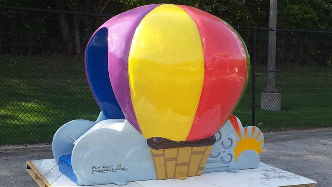 Indianola Veterans Memorial Aquatic Center is installing a new hot air balloon themed toddler slide. The slide will be in operation next summer.