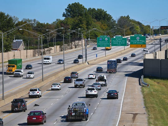 I-264 in Louisville near Taylor Boulevard could see