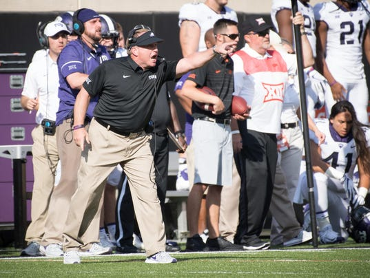 2017-10-2 gary patterson sideline