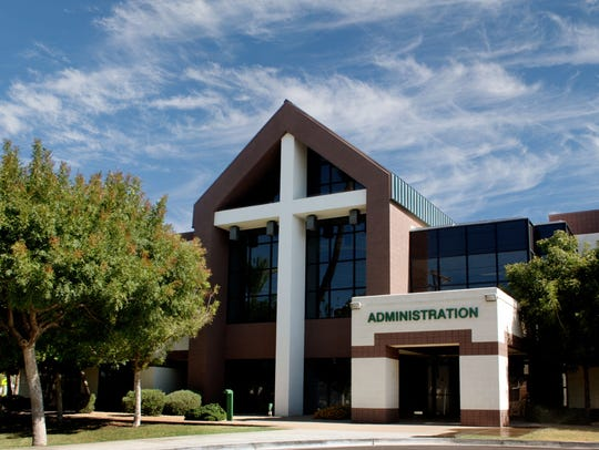 St. Mary's Catholic High School in Phoenix has been