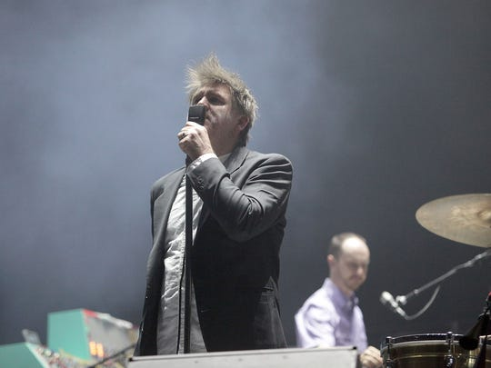 James Murphy, shown performing with LCD Soundsystem last year at the Coachella Music and Arts Festival, will headline the August Splash House After Hours party at the Palm Springs Air Museum.