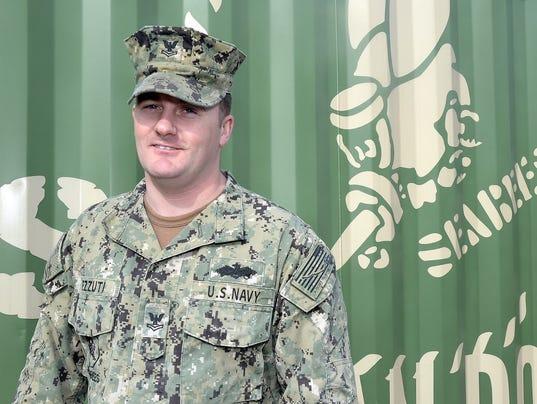 John Pezzuti, Navy