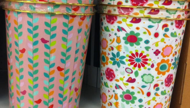Terrific trash cans, $4.99 at Meijer