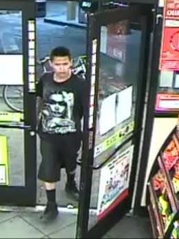 Suspect 1 involved in stealing beer from a Circle K and injuring an employee.