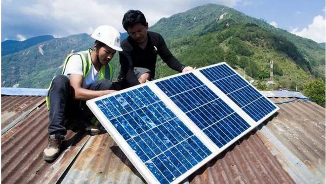 The Light up Nepal mission aims to provide solar-powered lighting systems.