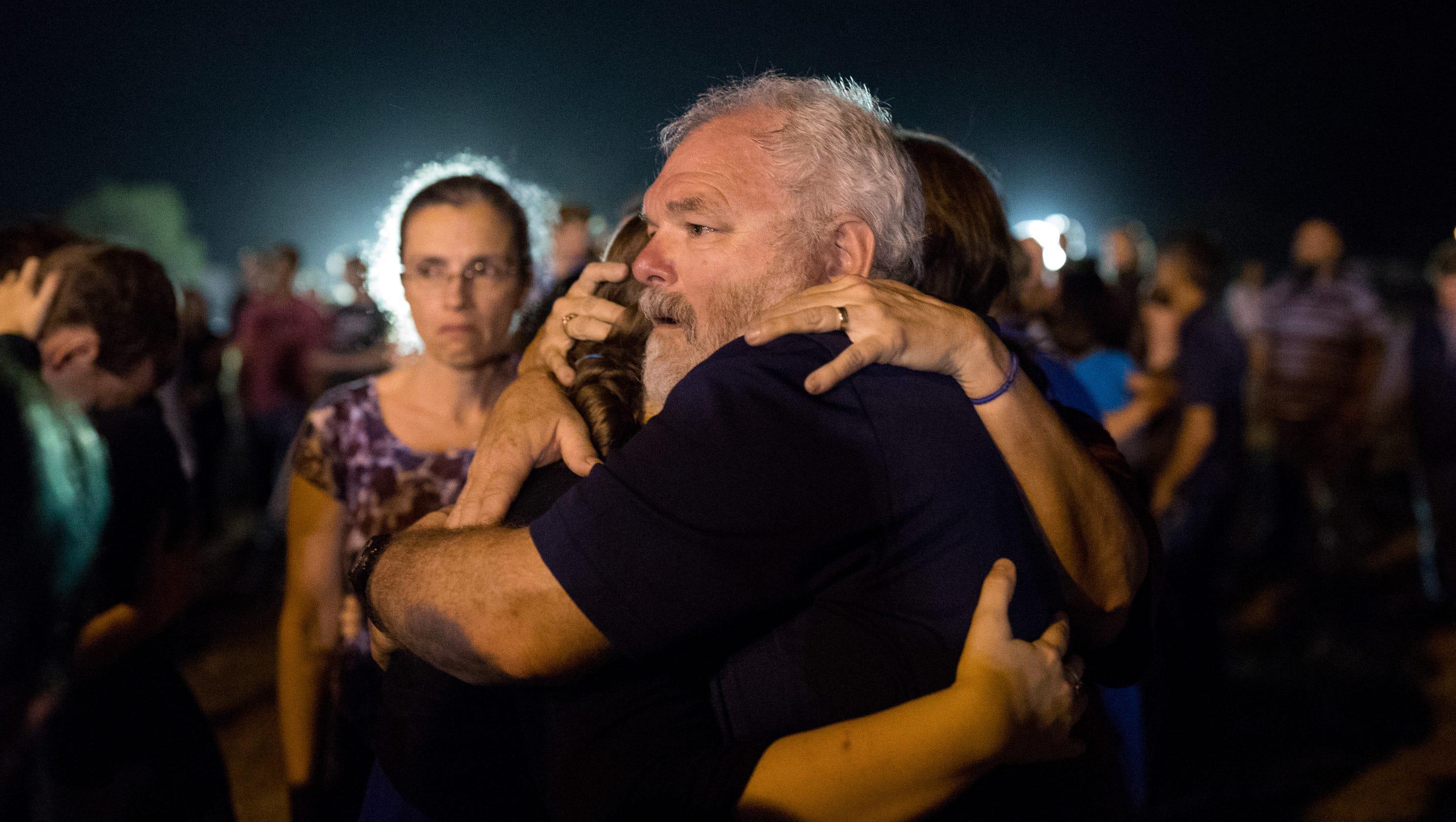 The man who took down the Texas church gunman