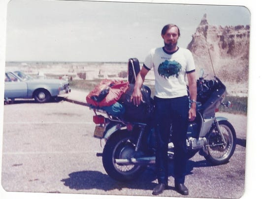 Al Zahrt was 19 when he bought the Gold Wing in 1976.