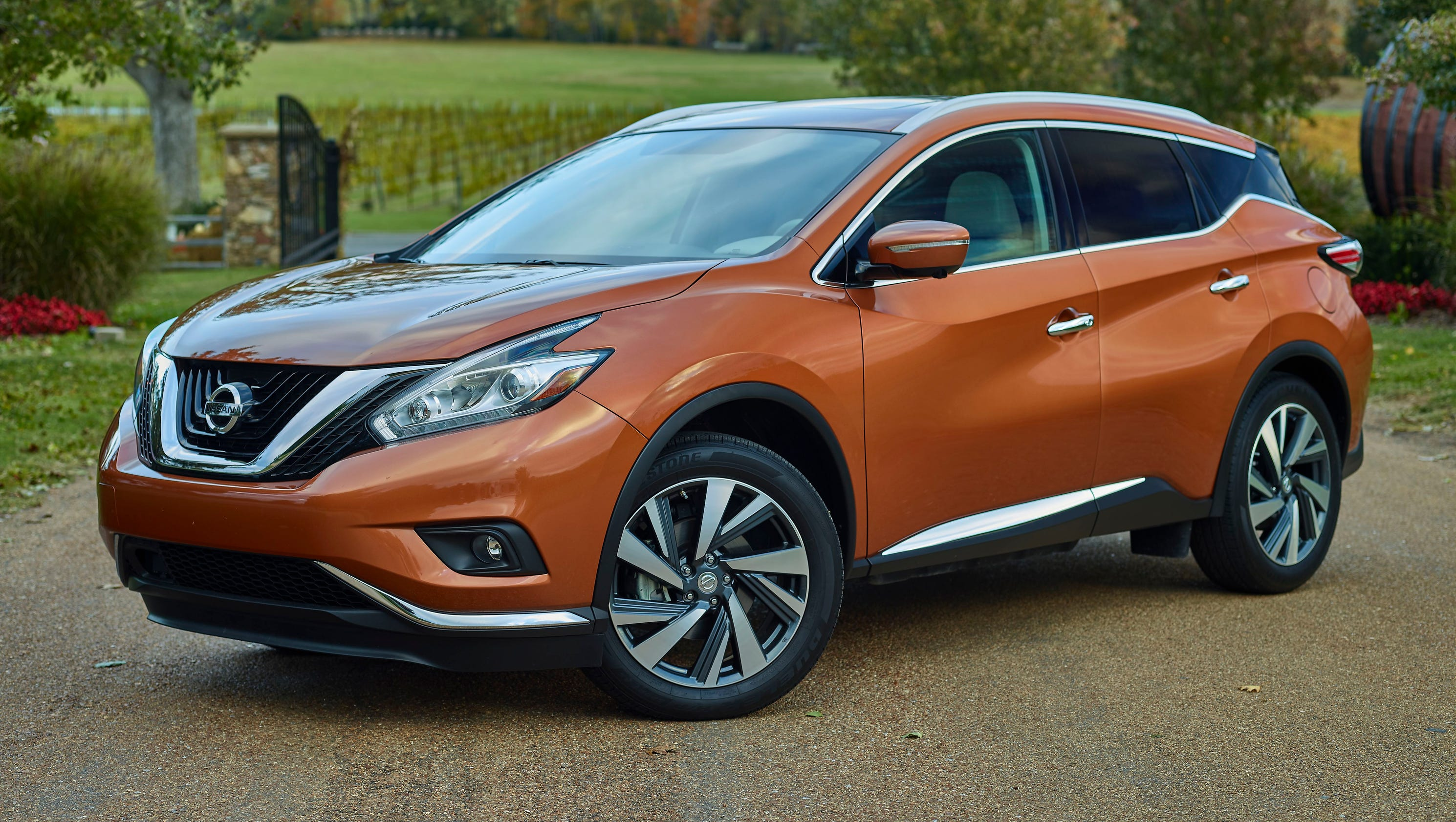 All New 2015 Nissan Murano And Ford Edge Face Off