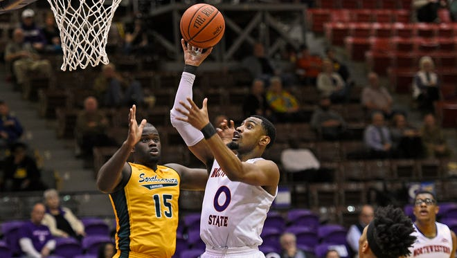 Tra'Von Joseph scored a career best 19 points that included the game winner in Northwestern's win over Nicholls State Saturday.