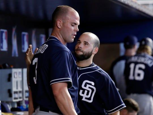 San Diego Padres starting pitcher Clayton Richard,