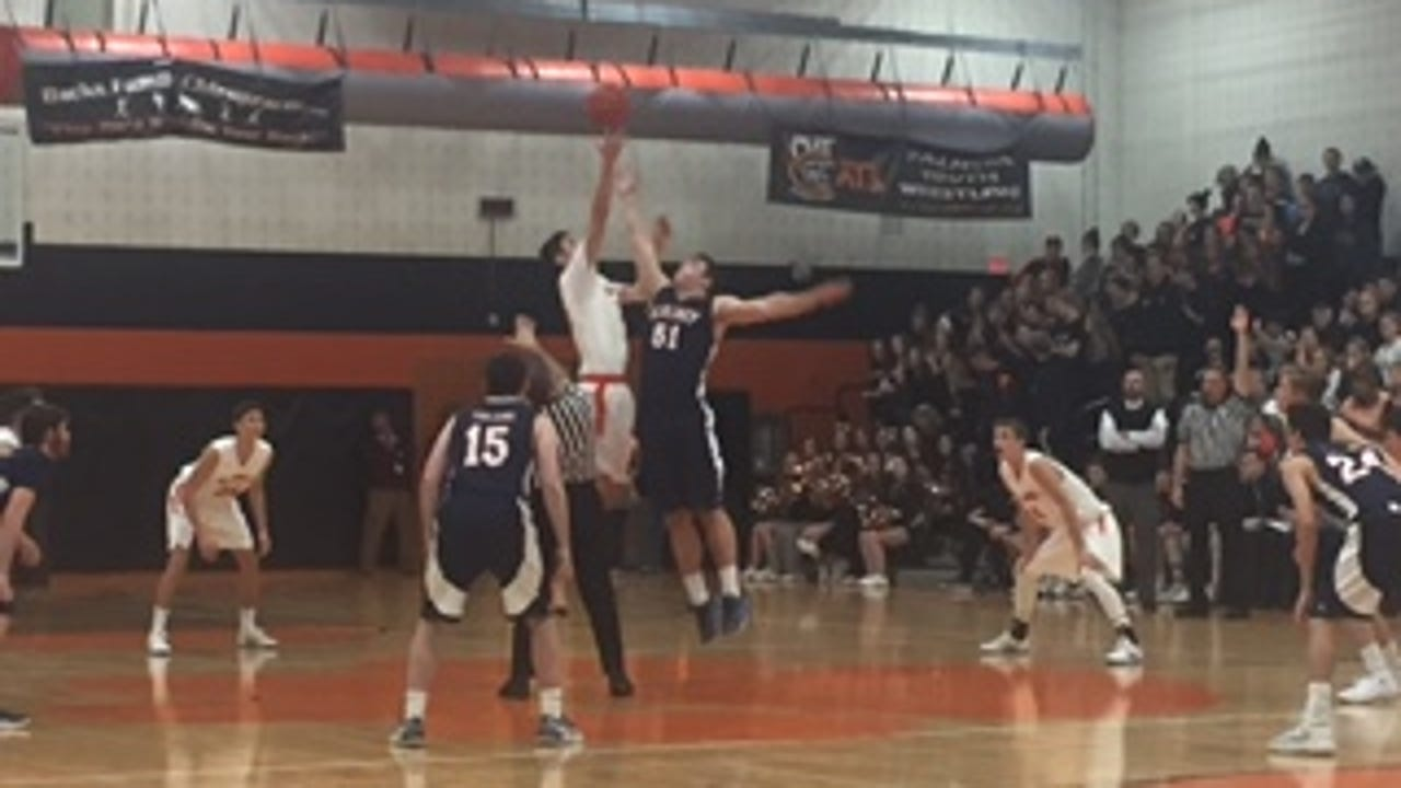 Highlights from the Cougars 58-42 win over Hershey Friday.