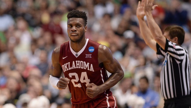 Oklahoma Sooners guard Buddy Hield (24) is the top NBA prospect at the Final Four.