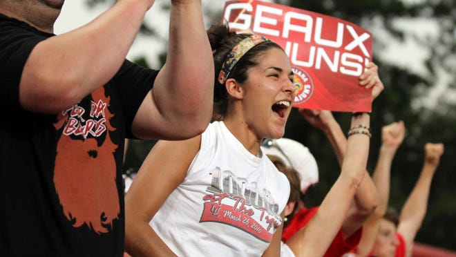 Cajuns fans get into the game, trust us.