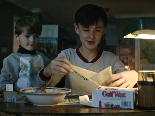 "Jaeden Lieberher and Jackson Robert Scott star in ""It."""