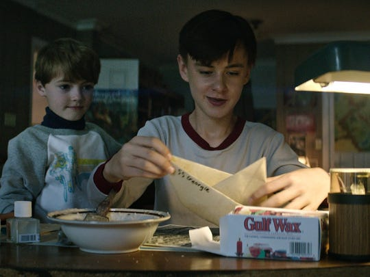 "Jaeden Lieberher and Jackson Robert Scott star in ""It."""