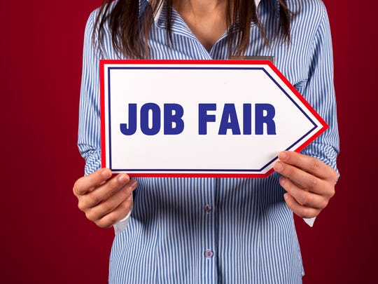 Job fair stock art