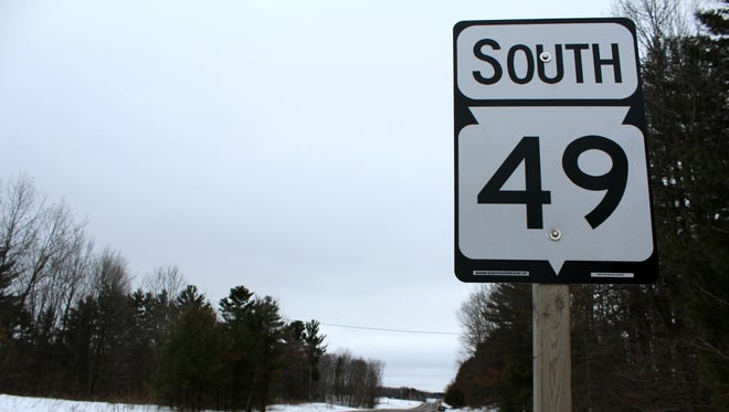 State 49 in the rural Portage County town of Alban rolls past the Central Wisconsin Electric Cooperative. The business also serves as a community gathering place and residents are upset a sexually violent offender, Peter Yogerst, was released to a nearby house by an out-of-county judge.