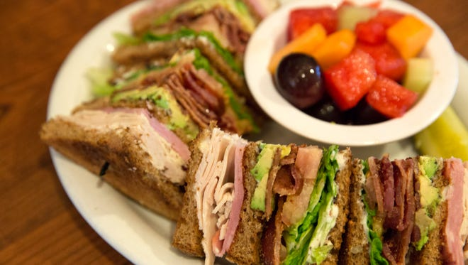 The country club sandwich in on the menu at Hill Street Cafe in Ventura.