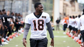 Bengals wide receiver A.J. Green said he won't be asking for a new contract as contracts explode around the league.