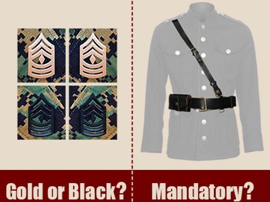 Commandant says no to proposed Marine uniform changes