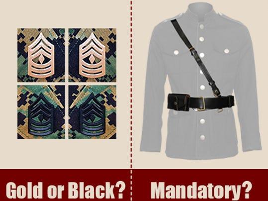 Commandant says no to proposed Marine uniform changes
