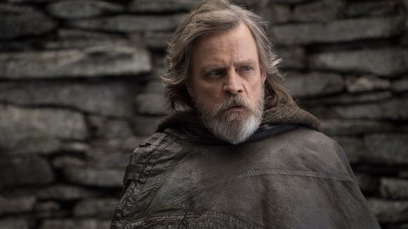 Mark Hamill returns as Luke Skywalker in 'Star Wars: