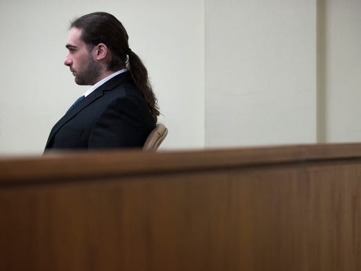 """David """"DJ"""" Creato appears in court during day eight"""