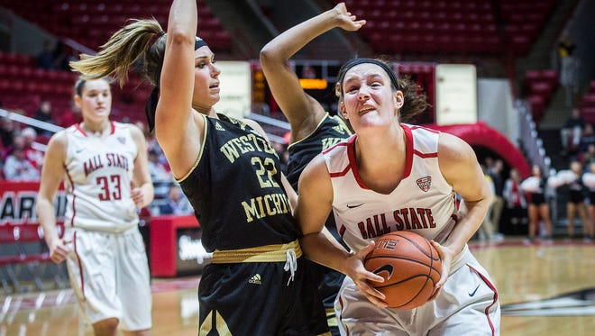 Ball State defeated Western Michigan at Worthen Arena Saturday, Jan. 7, 2017.
