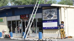 Johnny's Subs and Sundae Shop damaged in fire