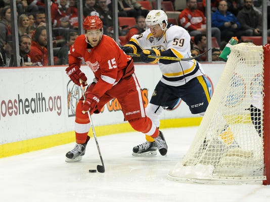 Riley Sheahan, Roman Josi