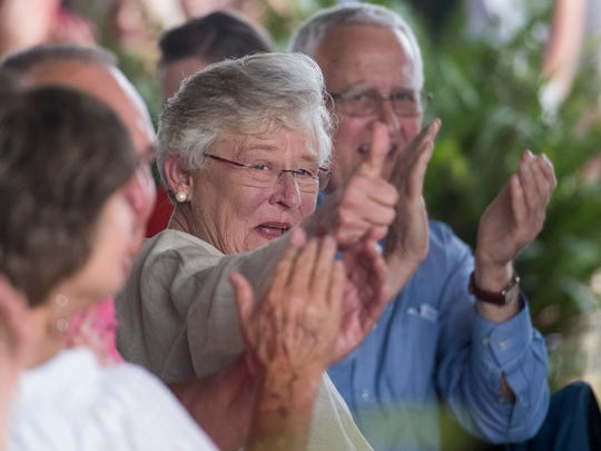 Governor Kay Ivey as the city of Camden and Wilcox County celebrate Kay Ivey day at The Shed outside of Camden, Ala. on Friday evening June 30, 2017.