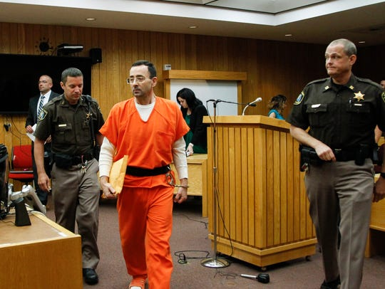 Larry Nassar will be in federal court on Tuesday morning
