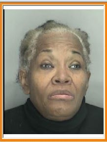 Bernice Thomas, 70 of Detroit, is charged with having stolen financial transaction devices. Police say she's the suspect in a purse-snatching incident in January at the Livonia Salvation Army store.