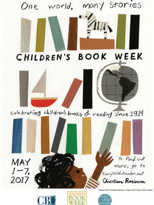 The 2017 poster for Children's Book Week.