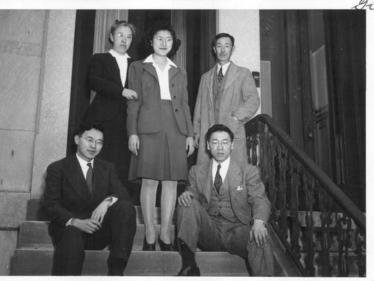Inouye family in 1944