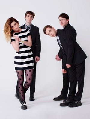 Echosmith, from left: Sydney, Noah, Jamie and Gordon Sierota.