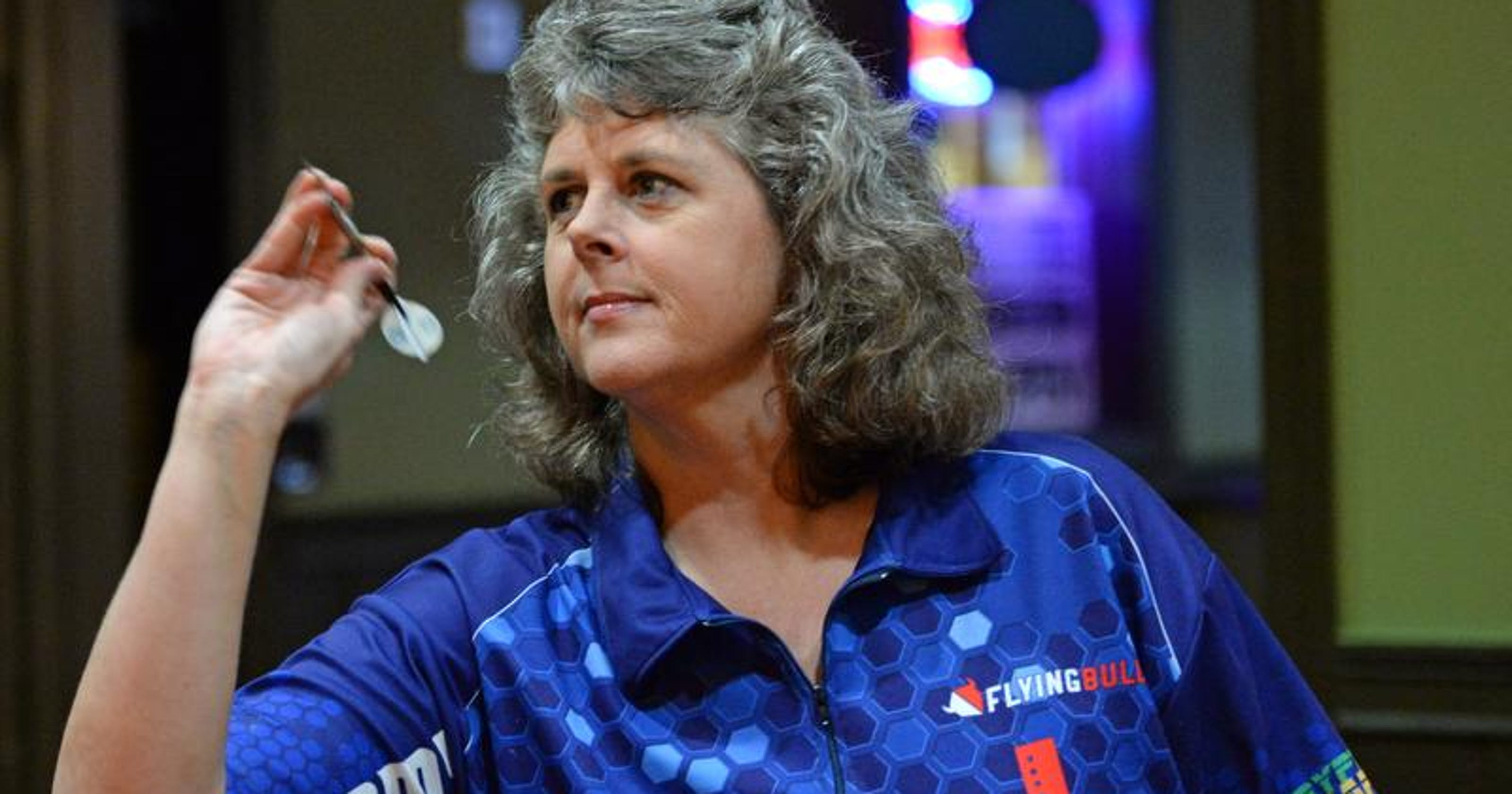 Greer's Hudson rises to the top of female darts charts