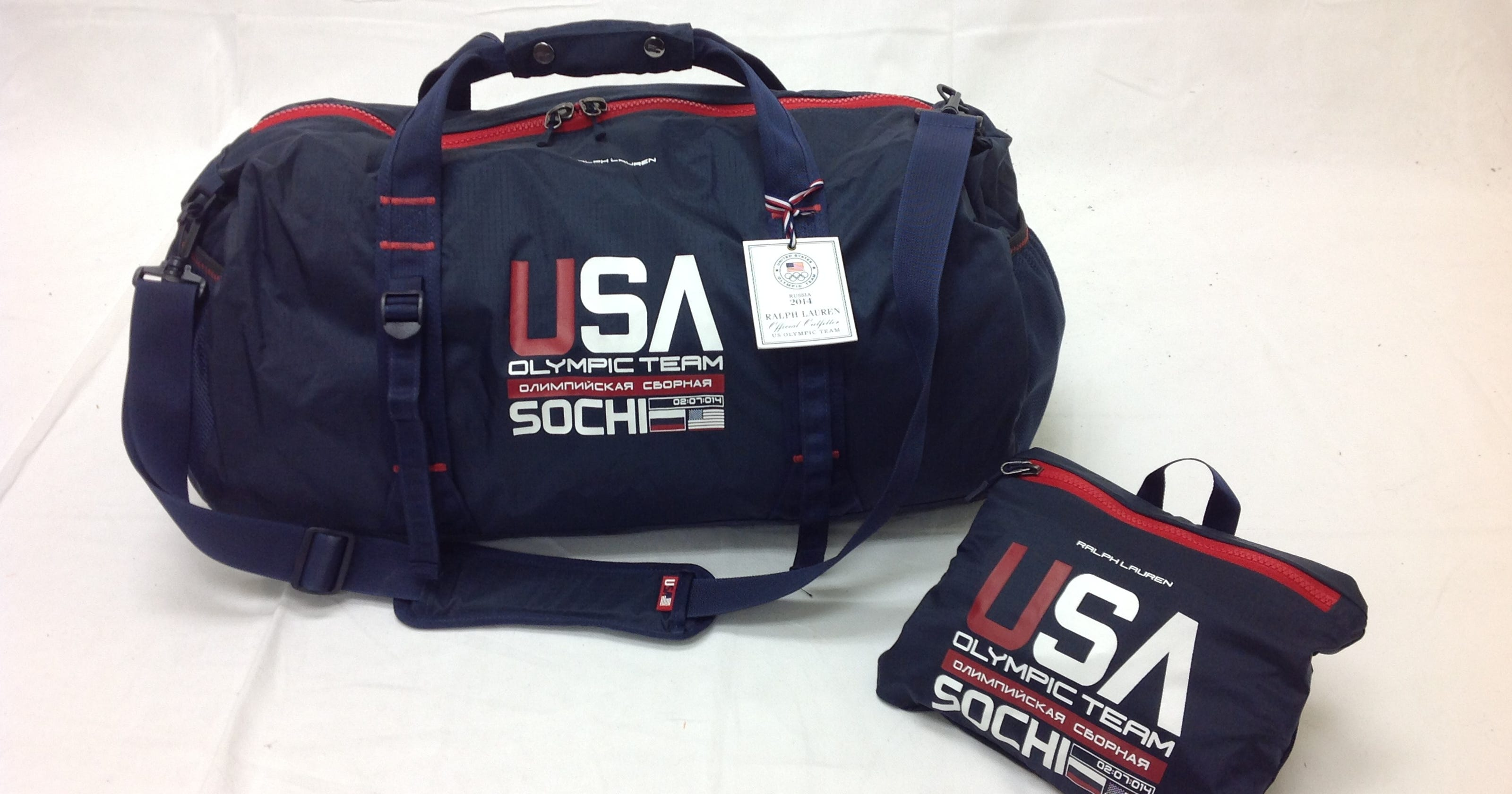 Olympic duffel bag made by Fieldtex in Brighton 25e886016b706
