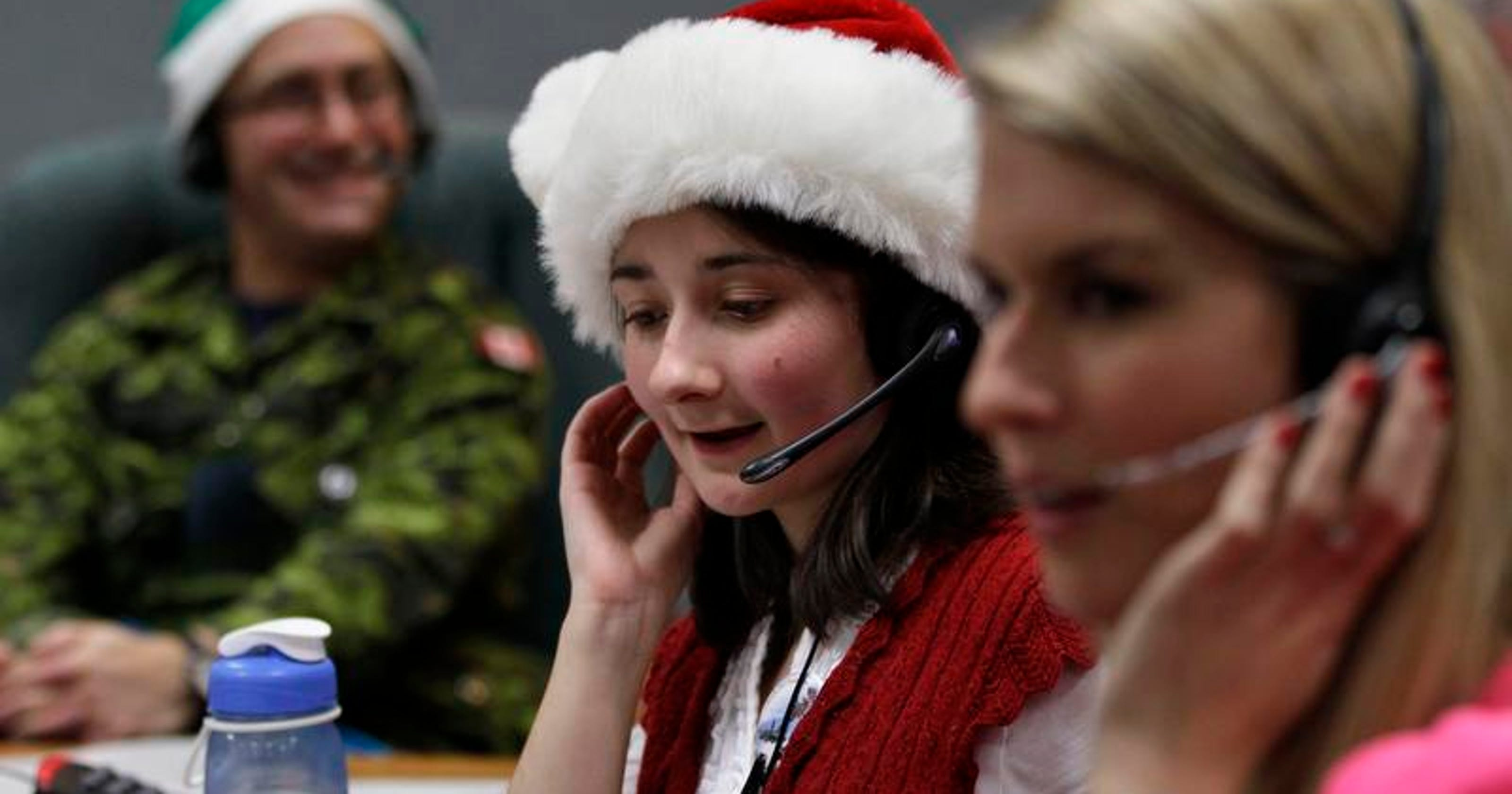 Santa Tracker | What do kids ask when they call NORAD\'s Santa ...