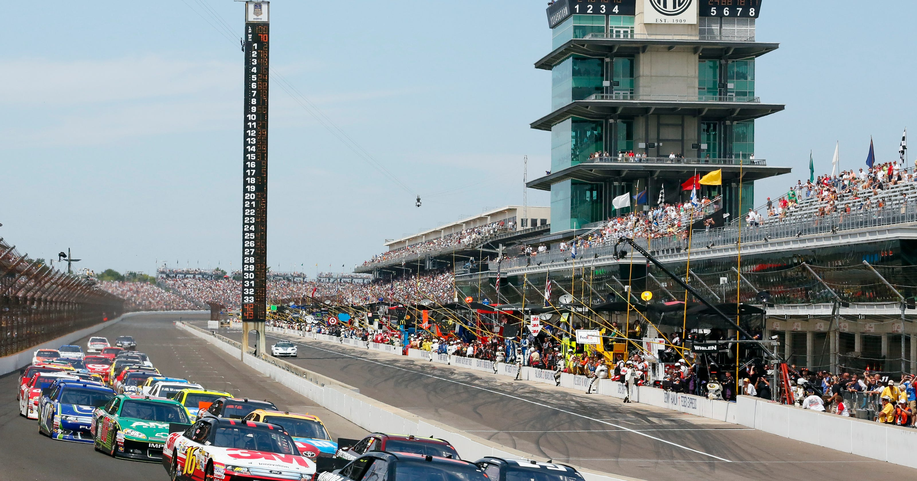 Retroindy indianapolis motor speedway for Indianapolis motor speedway indianapolis in