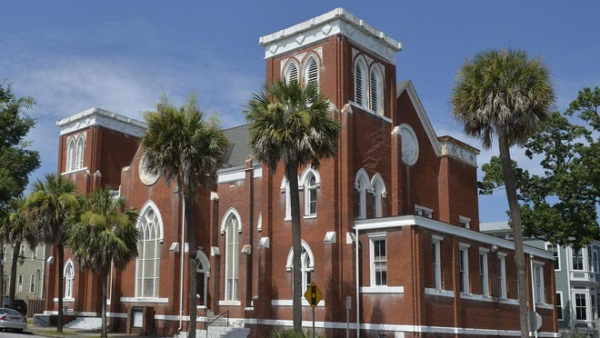 Asbury United Methodist Church at 1201 Abercorn St. is currently raising money for an extensive renovation project, which will include a new roof and work to the church's towers.